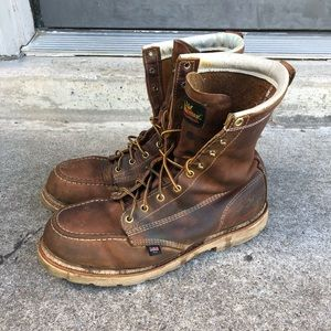 THOROGOOD Steel Toe Work Boots MADE IN USA SIZE 12